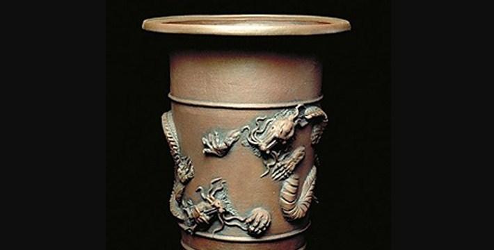 Pot Bonsai Bermotif Dragon Sangat Indah